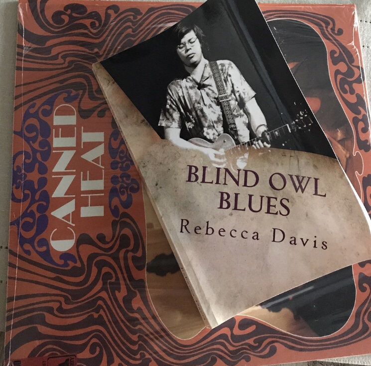 """My Interview With Rebecca Davis, Author Of """"Blind OwlBlues."""""""